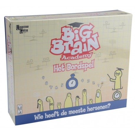 Big Brain Academy doos voorkant